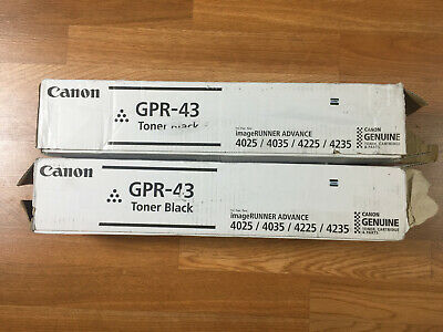 Canon GPR-43 GPR43 Black Toner 4792B003AA IR ADV 4025 Genuine New Sealed Box