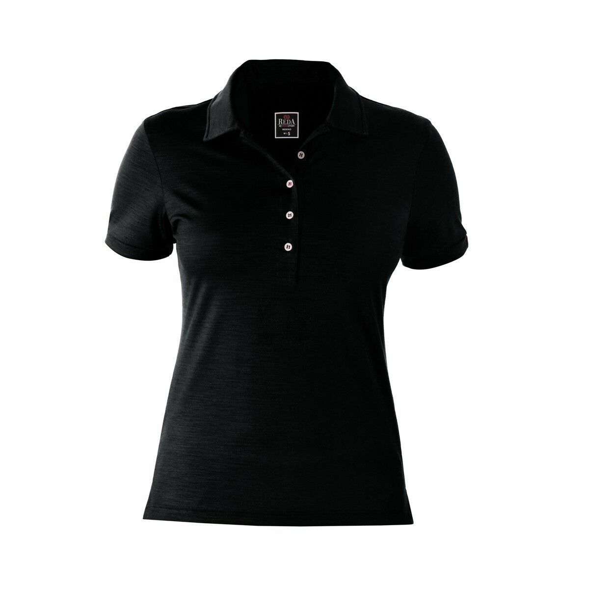 REDA rewoolution Mirth - Womens polo manga corta 190 , MERINO