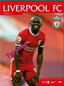 Liverpool-v-Arsenal-Premier-League-2020-21-PROGRAMME-29-9-20-READY-TO-POST