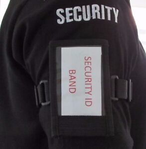 Durable-Adjustable-Security-Tactical-ID-License-Holder-Armband-Conference