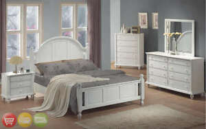 Superb Image Is Loading Full Bed White Wood 4 Piece Bedroom Furniture