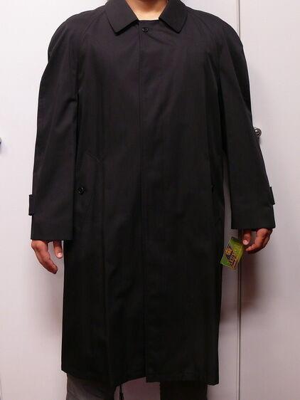 LORD HERRENMANTEL schwarz Größe 25 ca.110cm