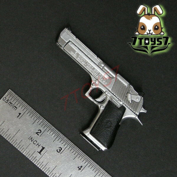 ACI Toys 1//6 Pistol/_ Desert E Silver /_Figure Toys gun Modern  AT033B