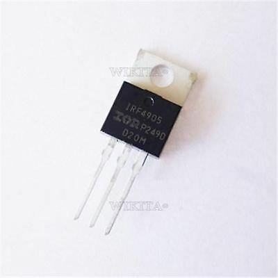 P-MOS P-Kanal IRF4905 IRF 4905 Transistor P-MOSFET TO-220AB 55V 74A