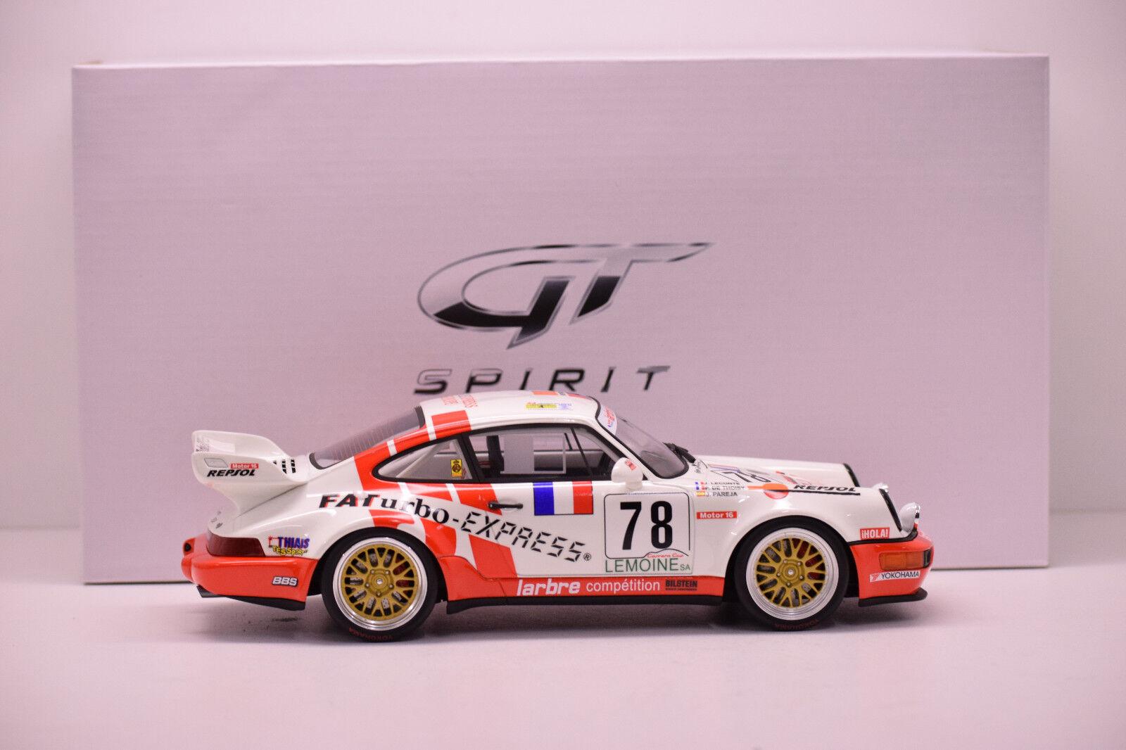 PORSCHE 964 RSR LE MANS 1993 GT SPIRIT 1 18 NEUVE EN BOITE N° 241 504