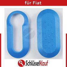 Fiat Autoschlüssel Schale Blau Punto 500 Bravo Cover Dablo Plastik Hülle Neu