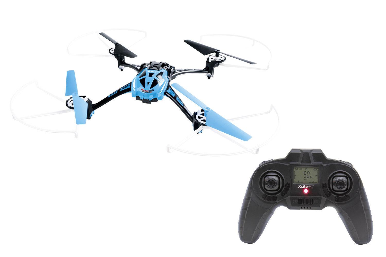 Elicoptero RC quadrocopter con cámara-xciterc Rocket 250 3d 4 canal RTF B