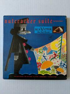 Nutcracker Suite Tchaikovsky RCA Victor Red Seal Records 45 rpm set Philadelphia
