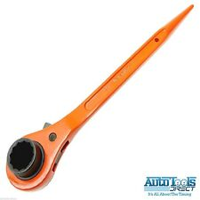 Ponteggio Chiave/ Cricchetto Podger Acciaio Dritta chiave 24mm x 30 mm arancione