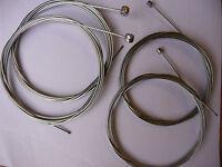 Bicycle Brake / Gear Inner Cables Wires Bike Cycle Pair Bulk Galvanised New MTB