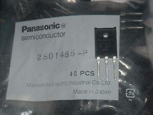 PANASONIC 2SD1485 TRANSISTOR NPN 100V 5A TOP-3F