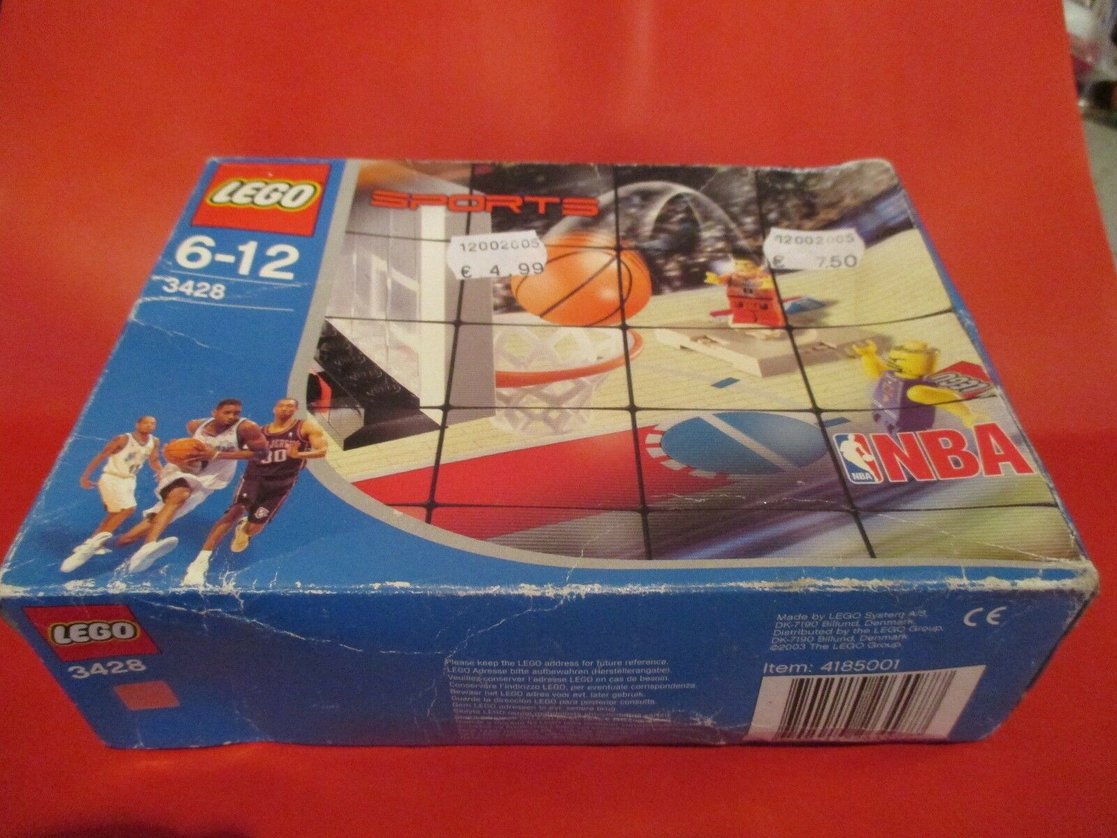 LEGO Sports 3428 NBA One vs One Action RARE SEALED