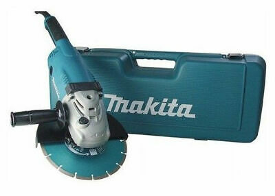 makita smerigliatrice flex 230mm 2200w valigetta disco diamantato ga9020kd ebay. Black Bedroom Furniture Sets. Home Design Ideas