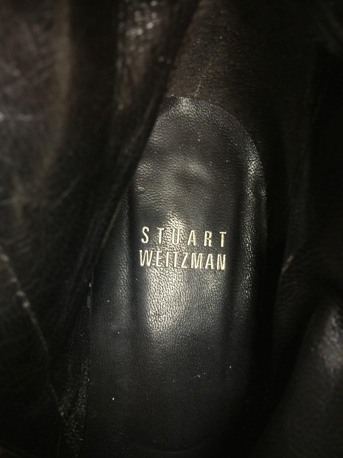 Stuart Braun Weitzman Damens Western  Braun Stuart Leder ankle Stiefel Größe US 6.5M 8472d7