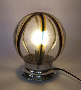 ♥ LAMPADA IN VETRO MURANO VINTAGE SPACE AGE ANNI 70 VEART DESIGN TONY ZUCCHERI