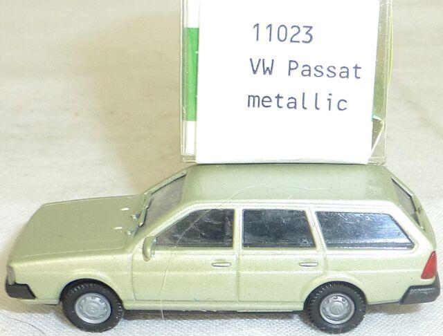 VW PASSAT BJ 1981 Verde Metálico IMU EUROMODELL 11023 H0 1:87 emb.orig #4# GA 5