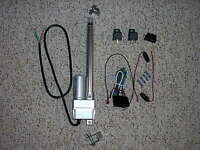 8 Power Linear Actuator Switch Harness & Bracket Trunk Hood Tonneau Street Rod