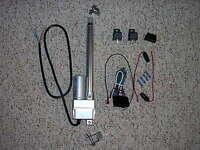 6 Power Linear Actuator Switch Harness & Bracket Trunk Hood Tonneau Street Rod