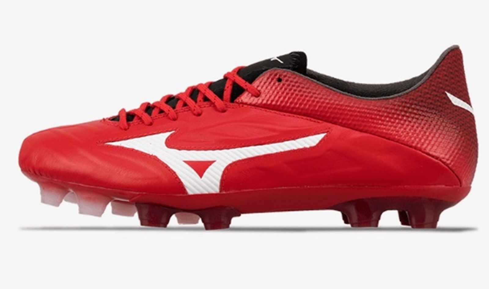 Mizuno Men Rebula V1 MD Cleats ROT Weiß Weiß ROT Soccer Football Schuhes Spike P1GA187162 0b6456