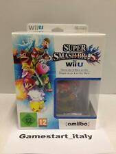 SUPER SMASH BROS + MARIO AMIIBO LIMITED (NINTENDO WIIU WII U) NEW PAL VERSION