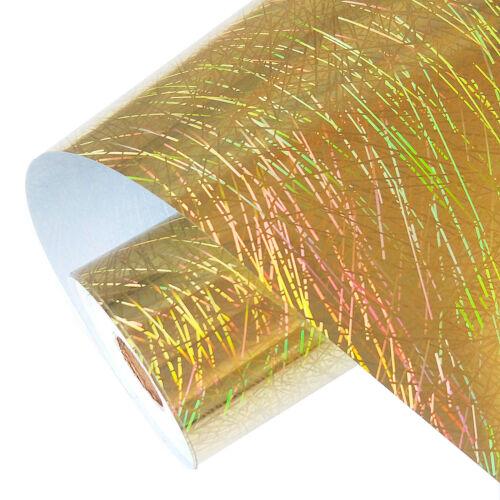 "12/""x40/""Hologram Chrome Heat Transfer Vinyl Iron-onT-shirt HTV Heat Press FilmHOT"