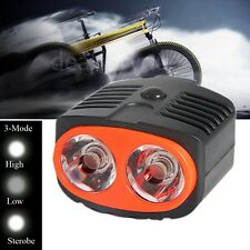 2LED 2W Owl Dual Use Bicycle Bike Head Light Lamp Front Light Outdoor Sport