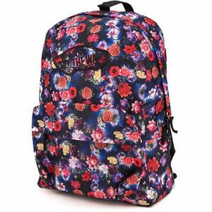 9c170a1eb1b051 Image is loading Vans-Realm-Classic-Patch-Galaxy-Floral-Print-Backpack-
