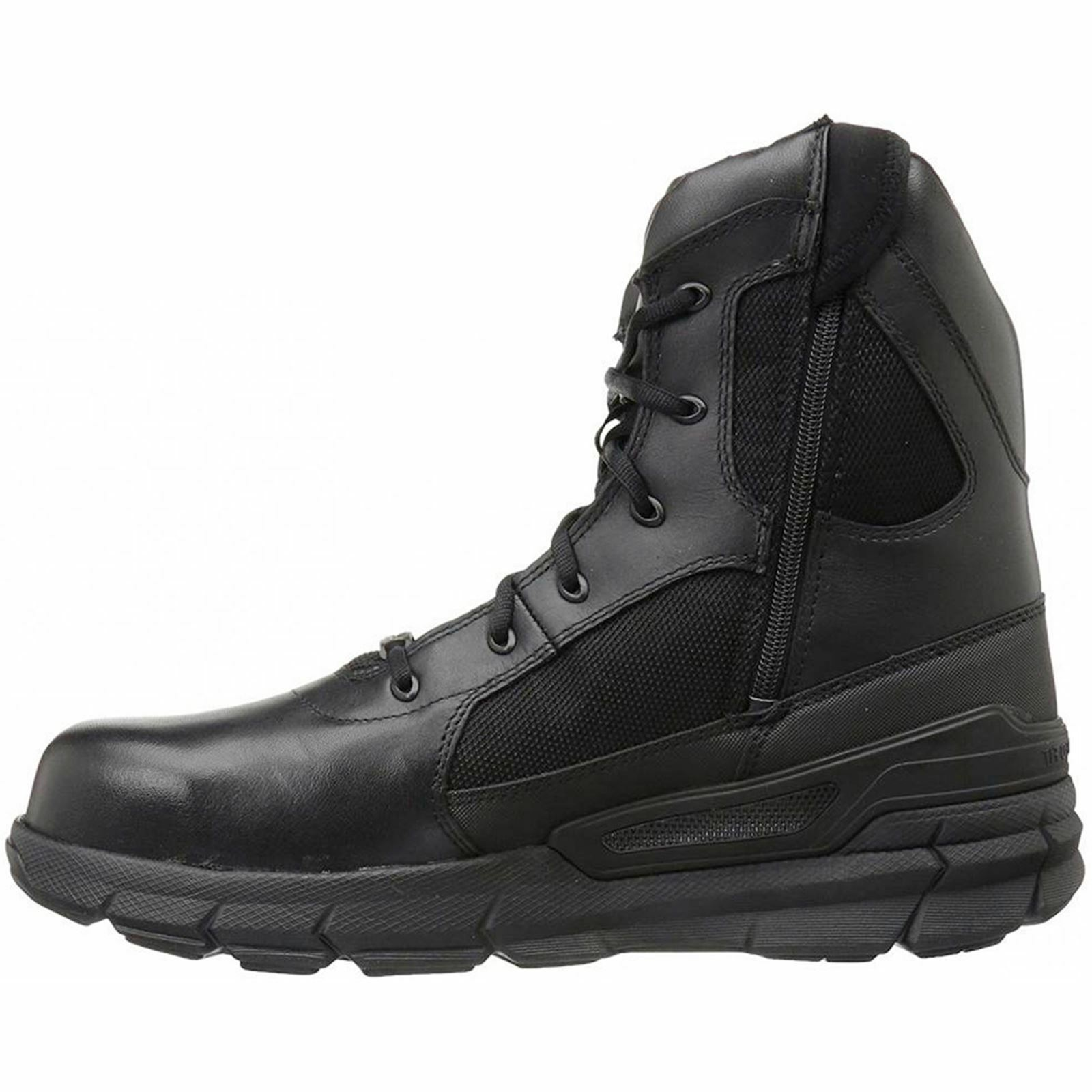 Bates Zip Charge Composite Toe Side Zip Bates Black Mens Leather Military Tactical Boots 8dc20a