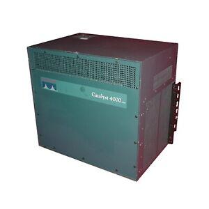 Cisco-Catalyst-4000-Series-WS-C4006-Power-Supply-Crate-w-6-Network-Modules