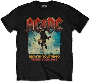 AC-DC-ACDC-Blow-Up-Your-Video-World-Tour-1988-T-SHIRT-OFFICIAL-MERCHANDISE