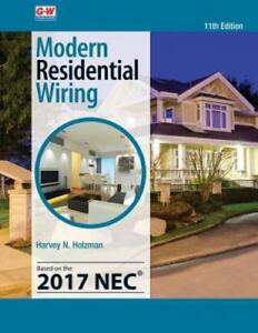 Details about Modern Residential Wiring by Harvey N Holzman: New on