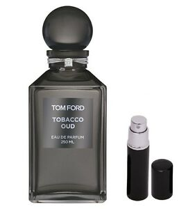 tom ford tobacco oud 5ml black atomizer spray ebay. Black Bedroom Furniture Sets. Home Design Ideas