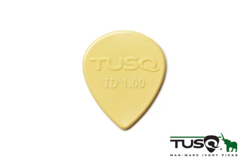 Graph Tech Tusq Picks Teardrop Shape 1.00mm Warm tone 6 pieces PQP-0501-V6