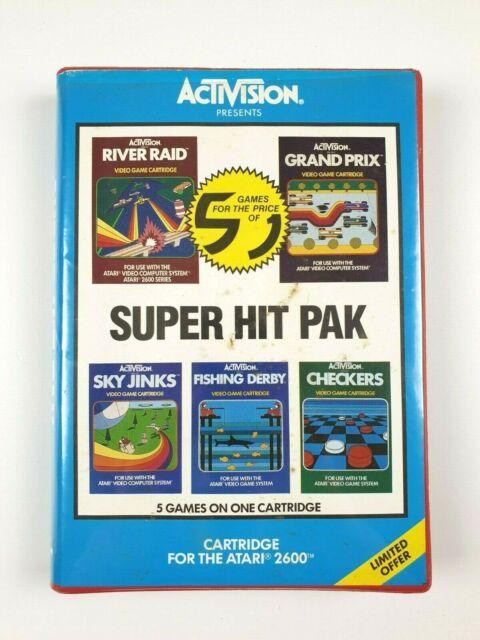 Super Hit Pak and Super Action Pak   Atari 2600 PAL In Box   Australian Release