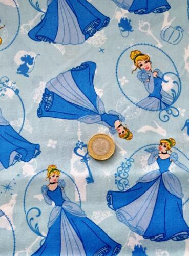 Cinderella Disney 100/% Cotton Fabric Print