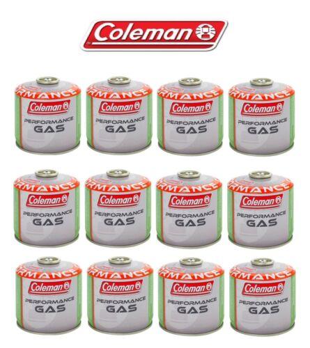BOMBOLETTA CARTUCCIA GAS COLEMAN c300 performance FILETTO 240 g GAS 12 PEZZI *
