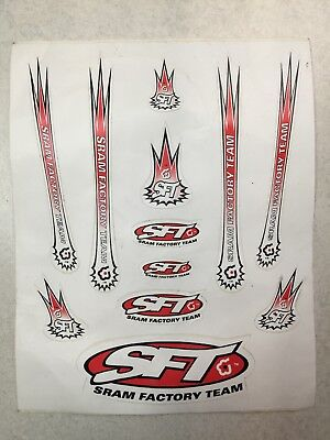 "RockShox Sticker Decal SRAM  3 x 2.5/"" Factory NEW!"