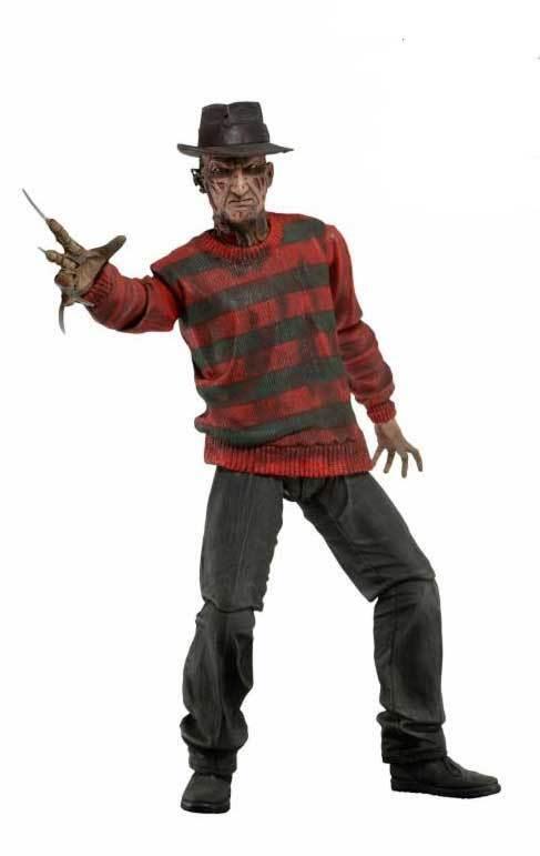 Freddy Krueger 30th Anniversary Poseable Figure 39759