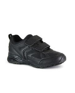 Détails sur GEOX Garçons Enfants J Bernie B Baskets noires chaussures d'école