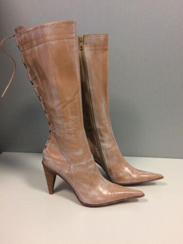 Bottines pour Quelle femme In Marron 5 véritable dames cuir 36 Made Italy veut Bottines en zzdgwrq
