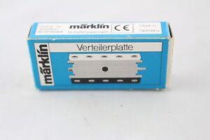 Inventif 7209 Plaque De Distributeur Märklin H0 Tt N Z Emballage D'origine + Top + Pour Classer En Premier Parmi Les Produits Similaires