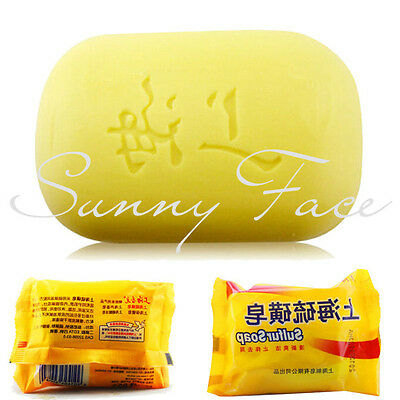 On Sale Shanghai Sulfur Soap Skin Conditions Acne Psoriasis Seborrhea Eczema