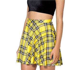 9cc5b8236 Girls / Woman Yellow - Plaid - Tartan mini skater skirt. 8-10-12-14 ...