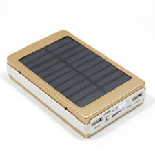 50000mAh 20 LED Solar 2 USB External Battery Charger Mobile Power Bank For Phone