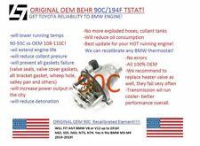 BMW OEM 90C/194F PERFORMANCE THERMOSTAT 11-53-7-586-885 N62, N63