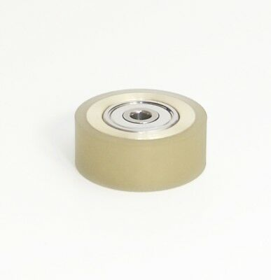 """ATHAN NEW PINCH ROLLER TEAC 2340 2500 3300 3340 3440 etc 1//4/"""" w// DUAL BEARINGS"""