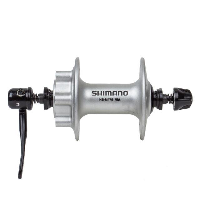 New Shimano HB-M475 Front Hub Black 6-Bolt Disc Brake 32h 100mm OLD