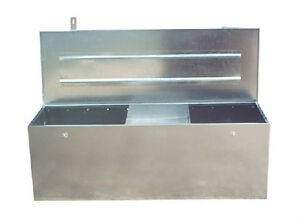 83-US-PRO-JOB-SITE-BOX-SAFE-TACK-CHEST-TOOL-BOX-VAN-TRUCK-SECURITY-GALVANIZED