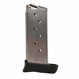 SIG Sauer MAG-938-9-7 SIGTac P938 Magazine 9mm Luger 7 Rounds SS w// Extension