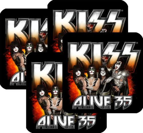 KISS Coasters Set of 4